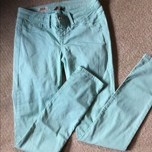 Summer Colored Skinny Leg Jeans
